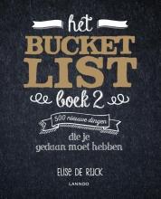 Elise De Rijck , Het Bucketlist Boek 2