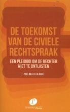 R.H. de Bock , De toekomst van de civiele rechtspraak