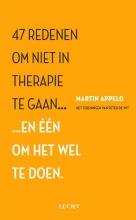 Martin Appelo , 47 redenen om niet in therapie te gaan...