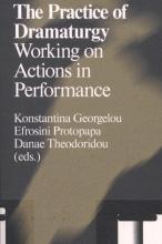 , The practice of dramaturgy