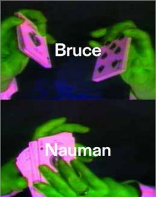 ,Bruce Nauman