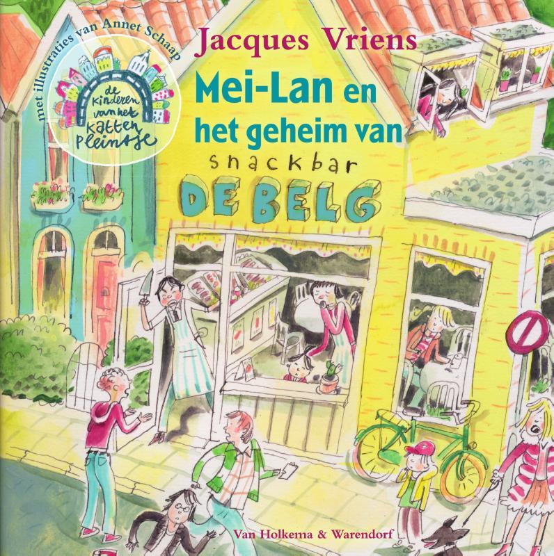 Jacques Vriens,Mei-Lan en het geheim van snackbar De Belg