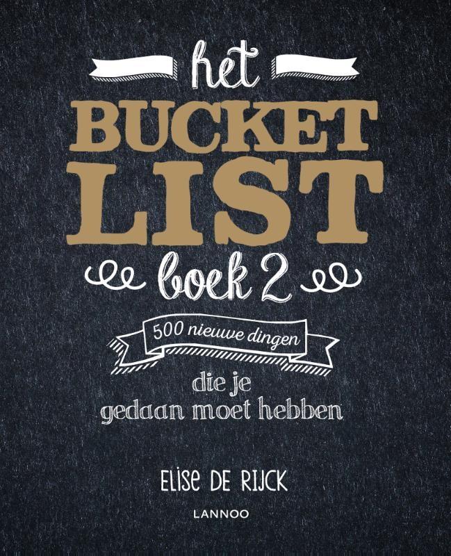 Elise De Rijck,Het Bucketlist Boek 2