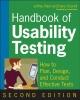Rubin, et al,Handbook of Usability Testing