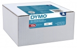 ,Labeltape Dymo 45803 D1 19mmx7m zwart op wit 10rol
