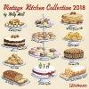 ,Vintage Kitchen Collection 2018 Broschürenkalender