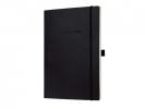 <b>Co210</b>,Notitieboek Conceptum Co210 187x270mm Zwart Blanco