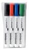 ,Viltstift Legamaster TZ100 whiteboard rond ass 1.5-3mm 4st