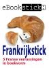 Frankrijkstick,5 Franse verrassingen in boekwvorm op een usb-stick in een metalen geschenkdoosje