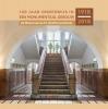 Ton  Beijersbergen, Robert van Lit, Carla  Scheffer, Jan  Wensveen,100 jaar onderwijs in een monumentaal gebouw