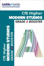 Pamela Farr,   Leckie & Leckie Higher Modern Studies Grade Booster for SQA Exam Revision