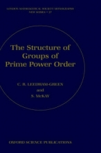 C.R. (Professor of Pure Mathematics, Queen Mary, University of London) Leedham-Green,   S. (Lecturer, School of Mathematical Sciences, Queen Mary, University of London) McKay The Structure of Groups of Prime Power Order