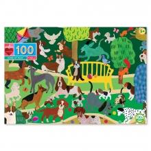 , Puzzel eeboo - dogs at play - 100 stukjes -45.7x68.5 cm