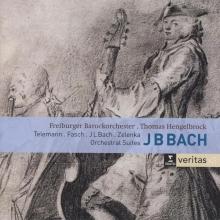 Zelenka  , fasch  , telemann , Cd orchestral suites - j.b.bach