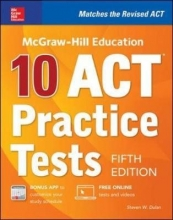 Dulan, Steven W. McGraw-Hill Education 10 ACT Practice Tests