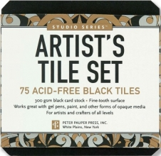 Studio Series Artist`s Tiles Black