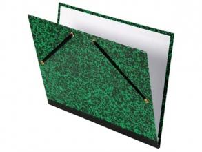 , Tekenmap Canson studio 52x72cm 2 elastieken groen