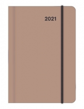 , Agenda 2021 teneues mini flexi earthline stone 7d2p 8x11 cm softcover