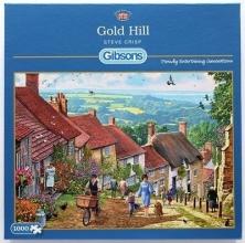 Gib-g6228 , Puzzel - gold hill - steve crisp -  gibsons - 1000
