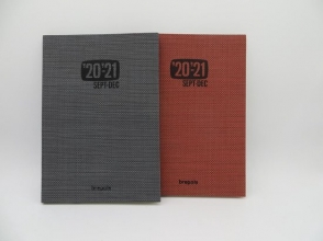 , Agenda weekly 2020-2021 16m notebook tessuto  ass