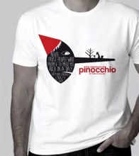 The Adventures of Pinocchio T-shirt, Xxl