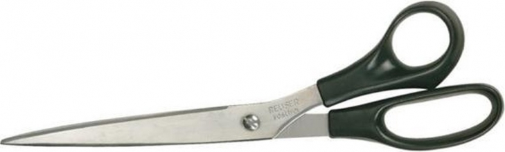 , Schaar Quantore 250mm +plastic handvat zwart