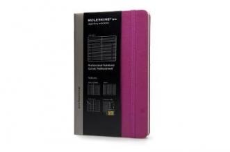 Moleskine Folio Professional Notebook Large Magenta