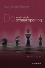 Paul van der Sterren , Wereld van de schaakopening 3