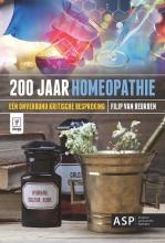 Filip Van Beurden , 200 jaar homeopathie