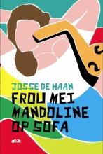 Josse de Haan , Frou mei mandoline op sofa