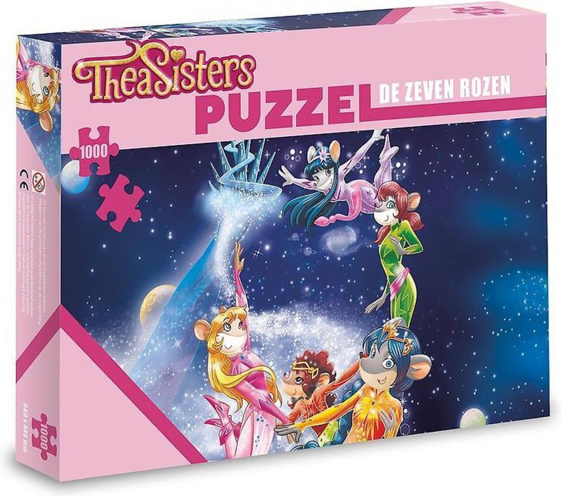 ,Puzzel – De Zeven Rozen