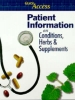 , Patient Guide to Conditions, Herbs and Supplement