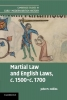 John M. Collins, Martial Law and English Laws, c.1500-c.1700