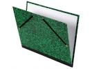 ,<b>Tekenmap Canson studio 52x72cm 2 elastieken groen</b>