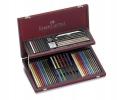 , kleurpotloden Faber-Castell Art&Graphic Compendium          mahoniebox