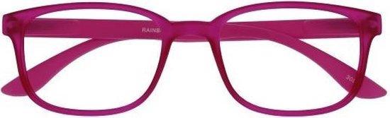 ,Leesbril X +1.50 Regenboog Roze