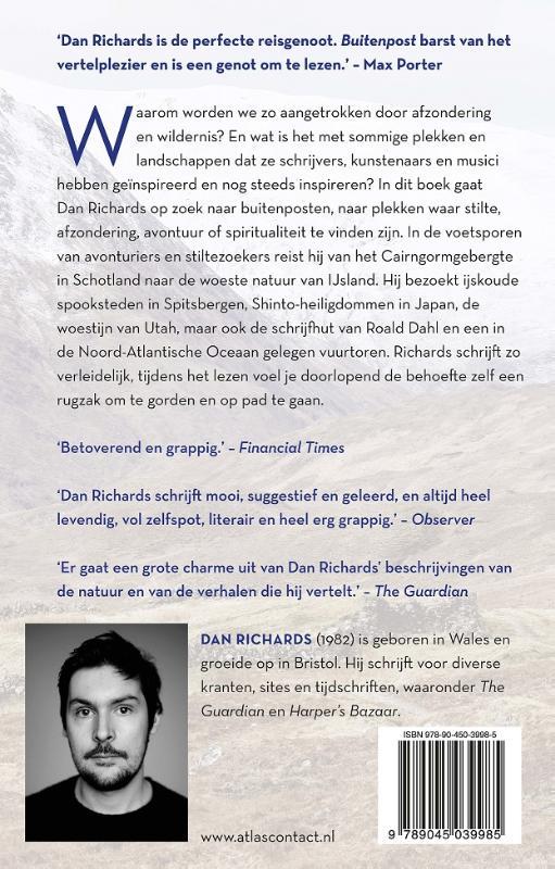 Dan Richards,Buitenpost