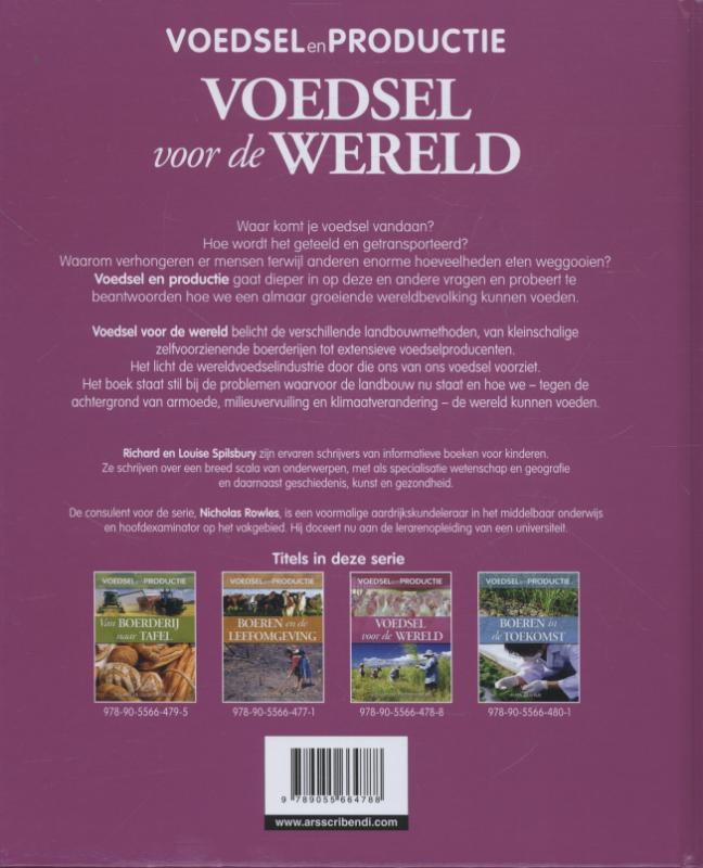 Richard Spilsbury, Louise Spilsbury,Voedsel voor de wereld