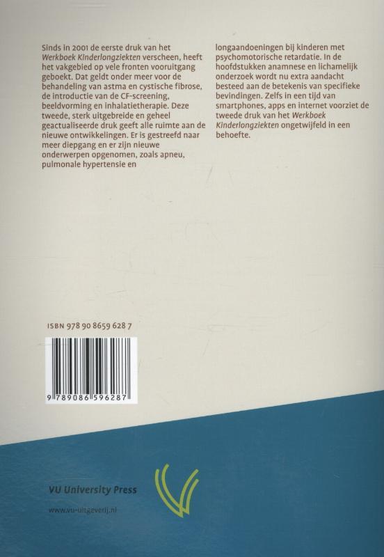 ,Werkboek kinderlongziekten