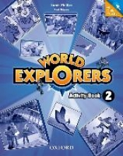 World Explorers: Level 2: Activity Book with Online Practice