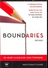 Dr. Henry, Ph.D. Cloud,   Dr. John Townsend Boundaries Participant`s Guide---Revised