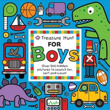 Surry, Emma,   Edwards, Hermione Treasure Hunt for Boys