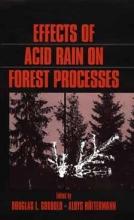 Godbold,   Huttermann Effects of Acid Rain on Forest Processes