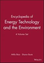 Bisio, Attilio Encyclopedia of Energy Technology and the Environm, 4 Volume Set