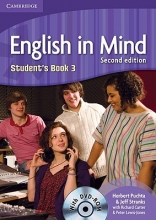 Puchta, Herbert,   Stranks, Jeff English in Mind Level 3 Student`s Book with DVD-ROM: Level 3