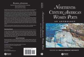 Paula Bernat Bennett Nineteenth Century American Women Poets