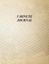 Blokehead, The Five Minute Journal