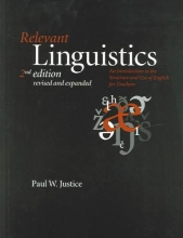 Paul W. Justice Relevant Linguistics