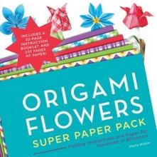 Maria Noble Origami Flowers Super Paper Pack