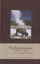Yellowstone National Park Hardcover Ruled Journal